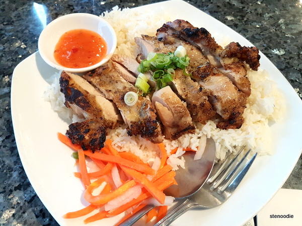 Lemongrass Grilled Chicken on Rice