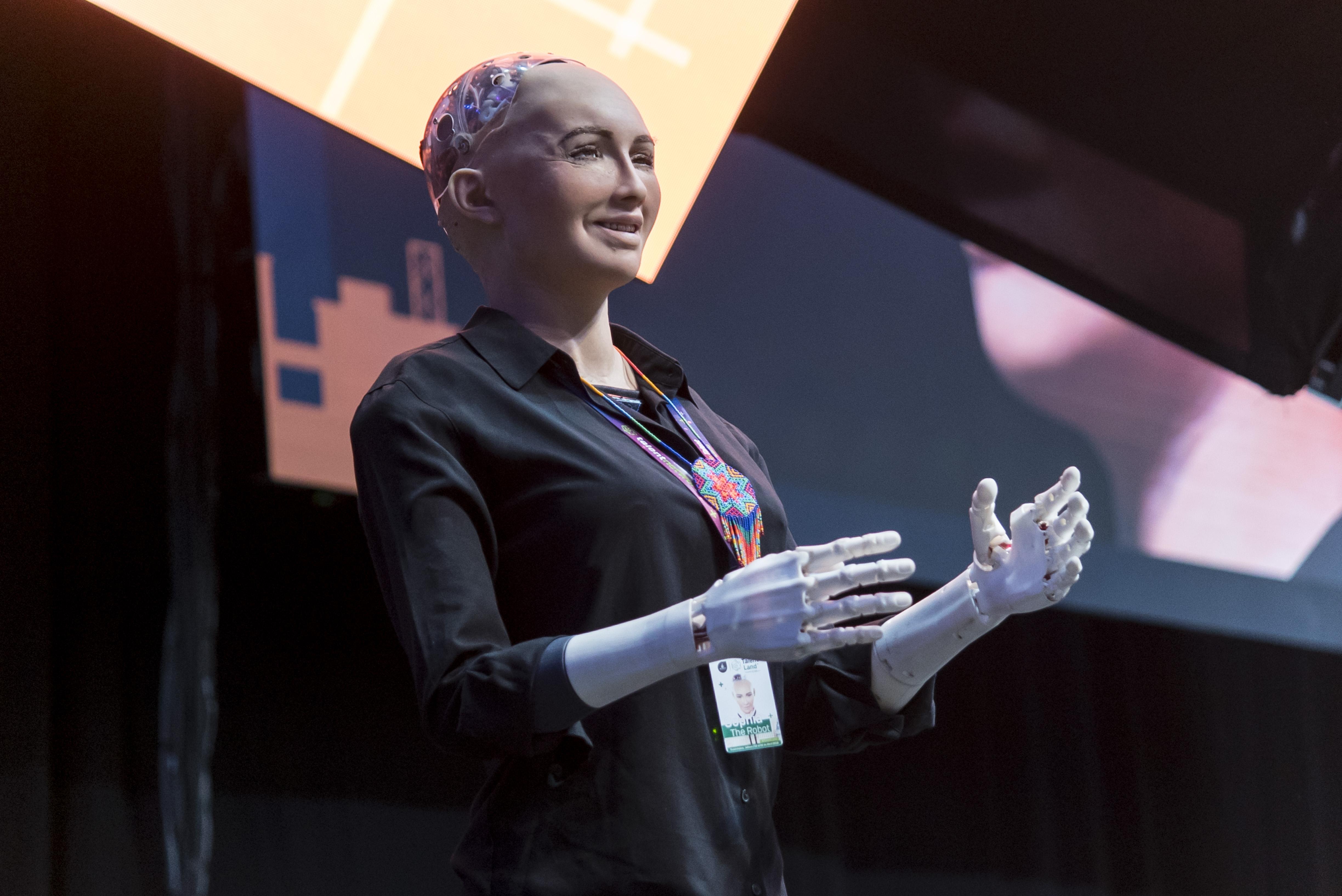 Sophia Robot / Escenario Principal