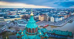 Uspenski cathedral & Kruununhaka