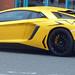 Yellow Lamborghini  on Navigation Street, Birmingham