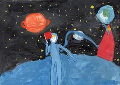 Пьянкова Мадина (рук. Овечкина Светлана Геннадьевна) - Рисунок