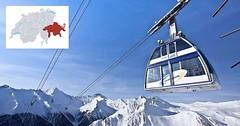 Engadin Samnaun - lyžování v bezcelní zóně