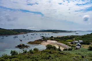 Tresco from Bryher