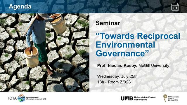 Seminar 25_07 Prof. Nicolas Kosoy