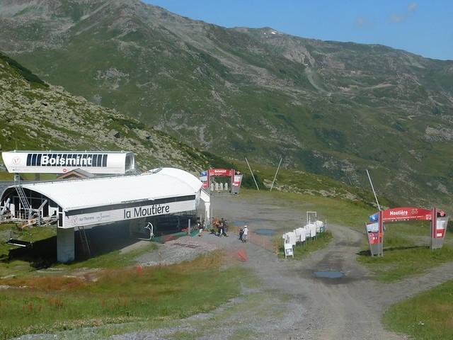14/07/2018 au 28 Val Thorens – 26/07/2018  Télésiège Les Moutières 2511 m Redescente Val Thorens 2300 m Chemin des Lacs (10 kms)