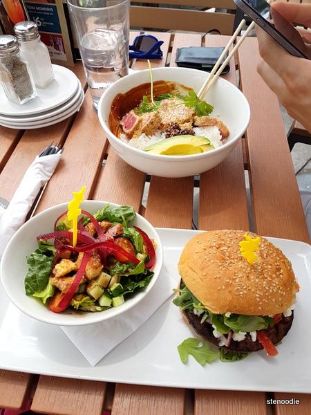 Jack Astor's patio meal
