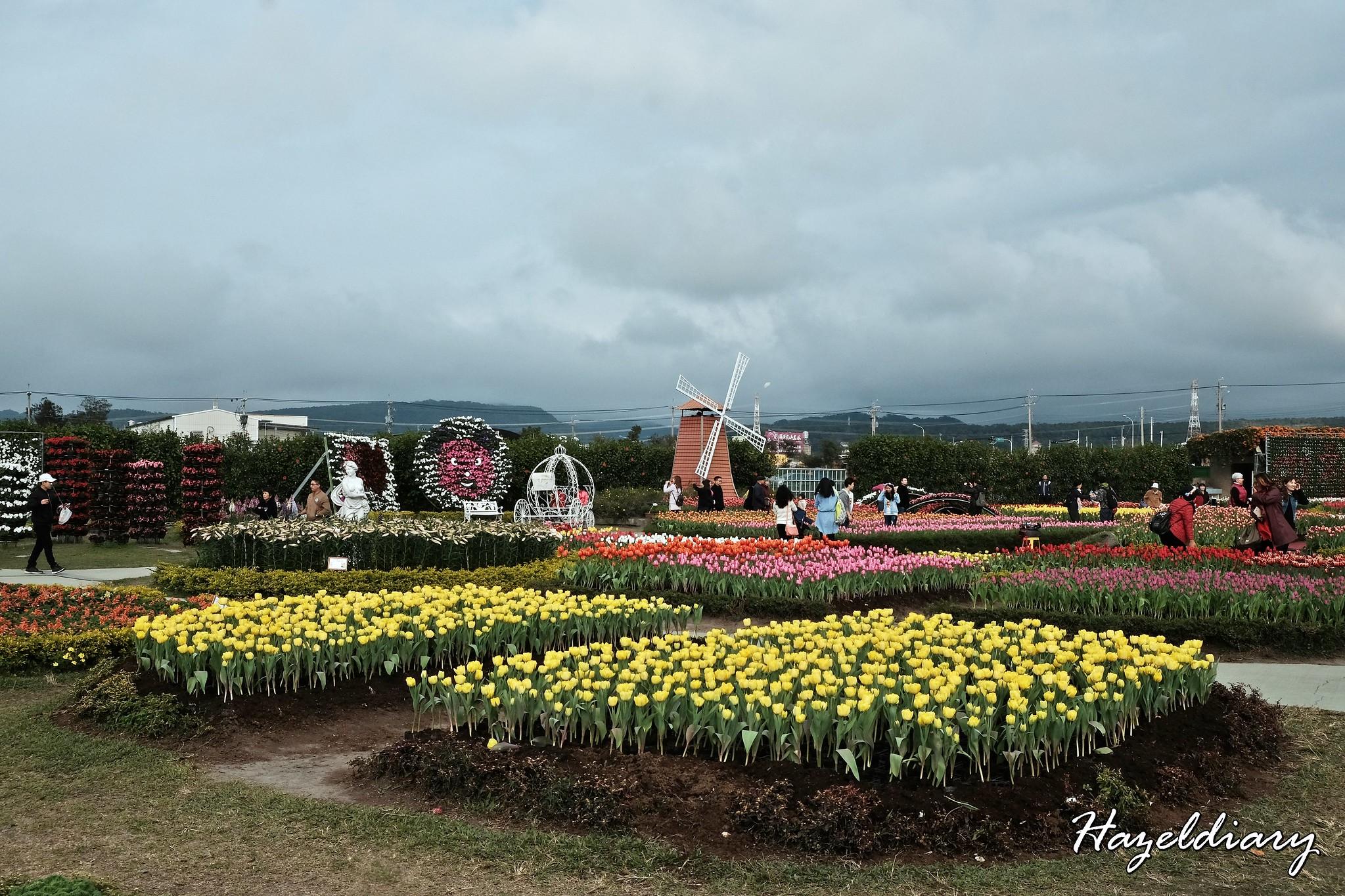 Zhong She Guan Guang Flower Market Taichung Taiwan-11