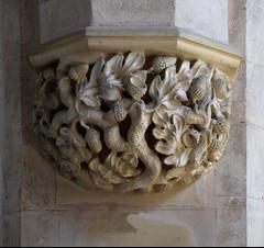 Acorn tangle corbel (19th Century)