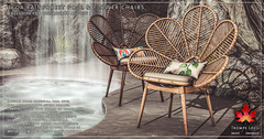 Trompe Loeil - Eloa Rainforest Pool & Flower Chair for Collabor88 August