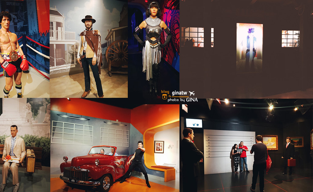 【洛杉磯景點】好萊塢大道|杜莎夫人蠟像館(Madame Tussauds)推薦洛杉磯無限景點通票(Go Los Angeles Card ) @GINA旅行生活開箱