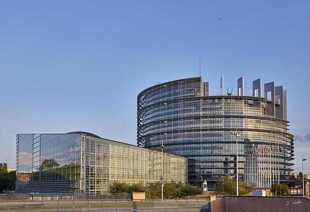 Le chateau fort du parlement européen
