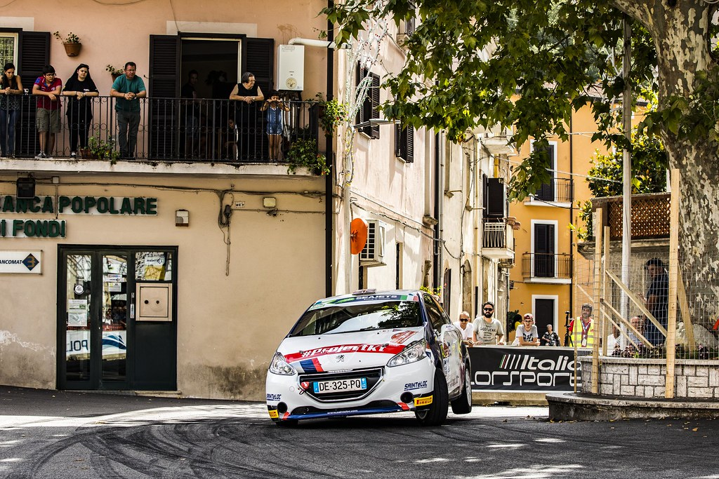 42 MUNNINGS Catie(gbr), STEIN Anne Katharina (deu), Peugeot 208, action during the 2018 European Rally Championship ERC Rally di Roma Capitale,  from july 20 to 22 , at Fiuggi, Italia - Photo Gregory Lenormand / DPPI