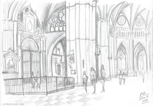 Toledo cathedral interior sm