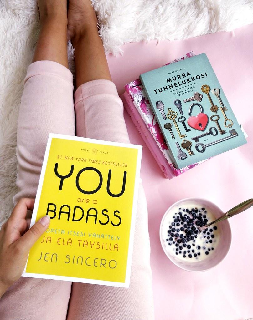 you are a badass kirja arvostelu blogi