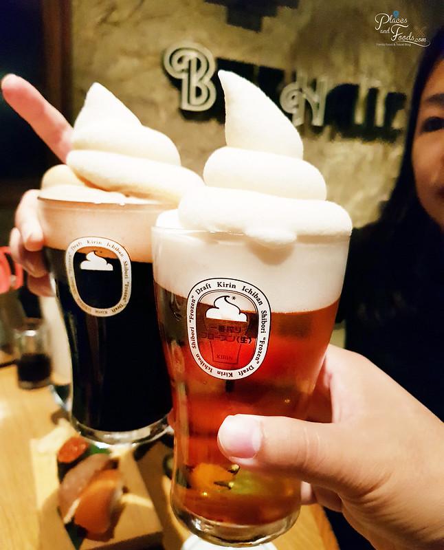 kirin sapporo frozen beer