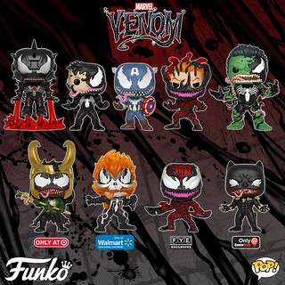Venom Forever! Funko Pop! Marvel – Venom Series