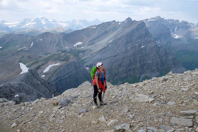 Scrambles - Mt. Bourgeau-7
