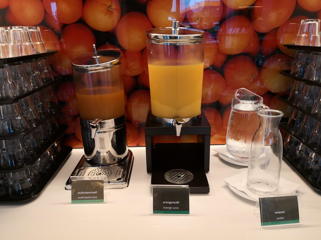 Juice section