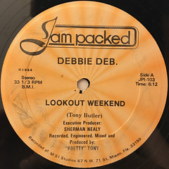 DEBBIE DEB:LOOKOUT WEEKEND(LABEL SIDE-A)