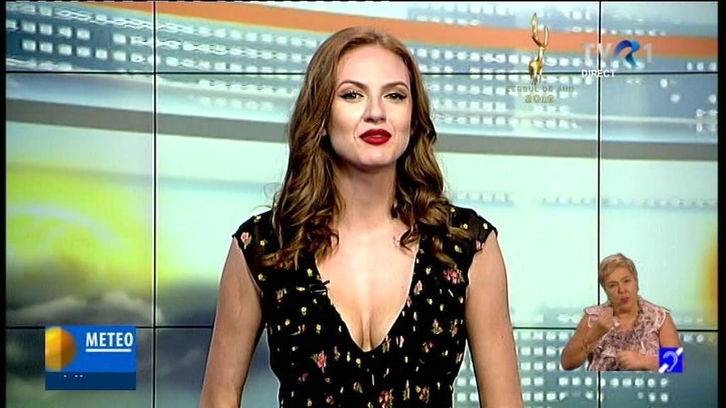 Iulia Iancu dă farmec prognozei meteo