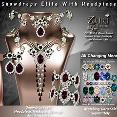 Zuri's Snowdrops Elite-HP,Necklace,Earrings & BraceletsPIC
