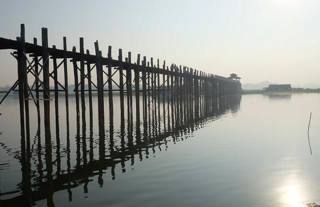 U Bein Bridge, Fujifilm X-E2, XF18-55mmF2.8-4 R LM OIS