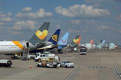Bristol Airport Tails