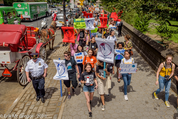 NYC Youth lead Zero Hour march on climate