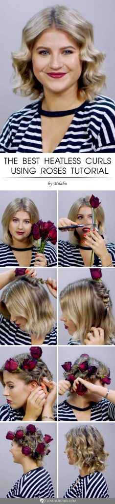 How To Curl Short Hair? -Creative And Easy Ways For Latest Styles! 2