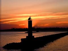 Kadikoy Harbor at sunset