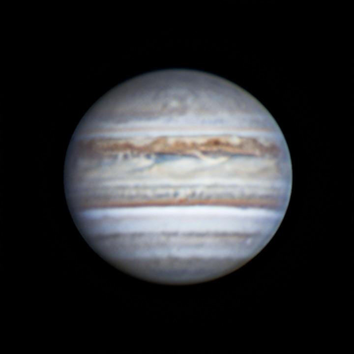 木星 (2018/7/29 19:52-20:07) (1500/3000 x6 de-rotation (19:59) LRGB)