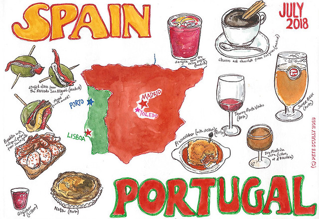 Spain and Portugal Sketchbook front page sm