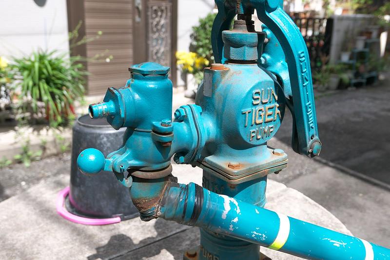 荒川区南千住1丁目の井戸ポンプ