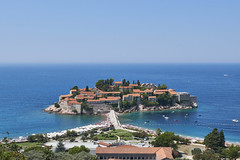 Sveti Stefan - Beautiful tidal island in Kotor