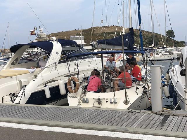 20180728 - C.N. Llançà - Capacitació nàutica - Pràctiques de marineria