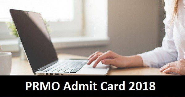 prmo admit card