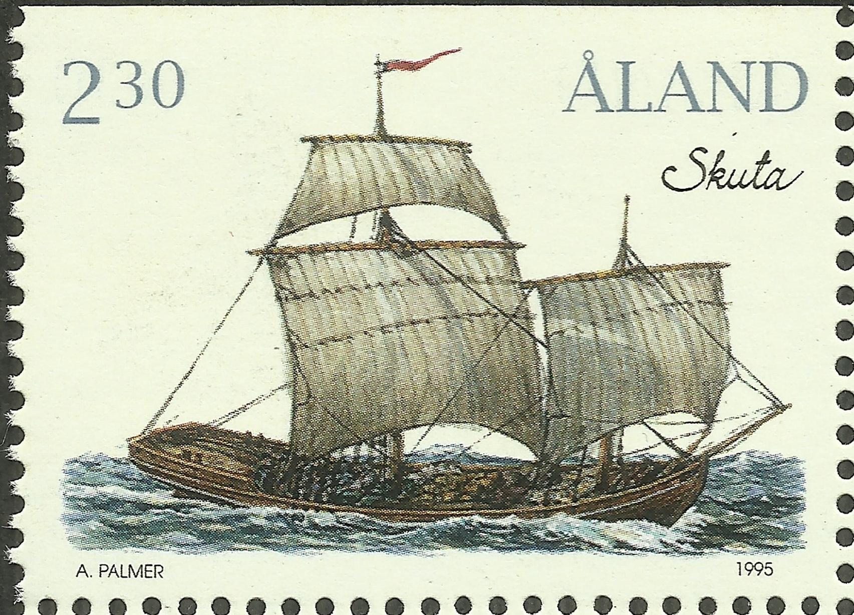 Åland Islands - Scott #109 (1995)