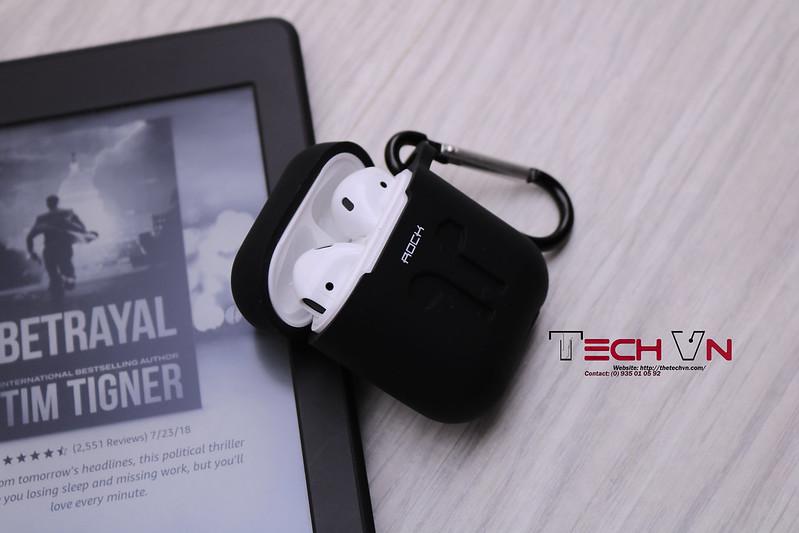 TechVn - Case airpods ROCK ốp bảo vệ airpods 12