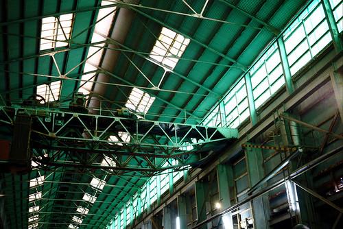 Roof, Industrial Precinct, Cockatoo Island