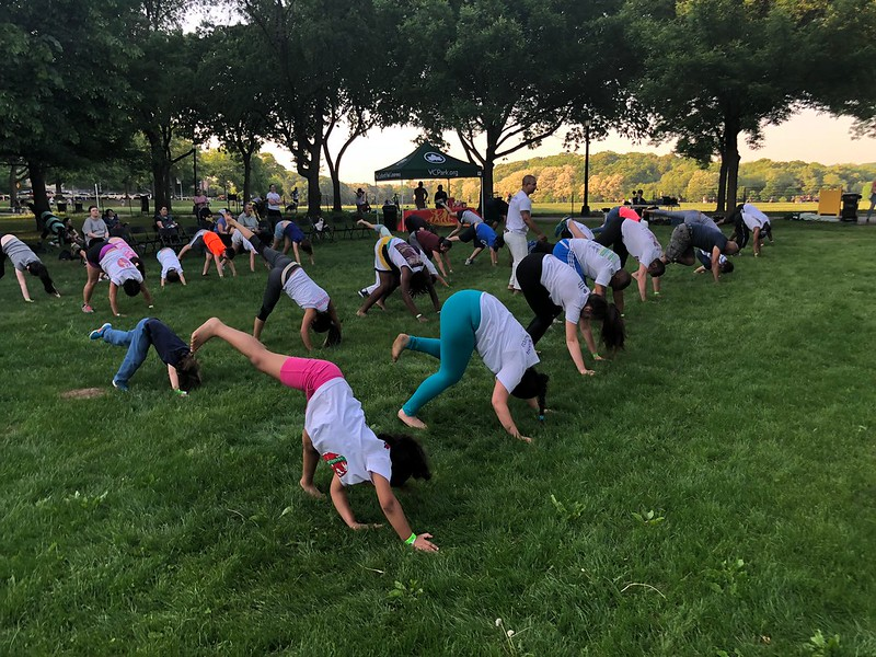 Free Capoeira In The Park 2018