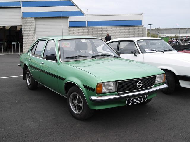 Opel Ascona 1.9S SR 1976, Panasonic DMC-GF5, LUMIX G VARIO 14-42mm F3.5-5.6