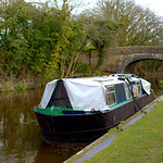 Boat on the Preston canal