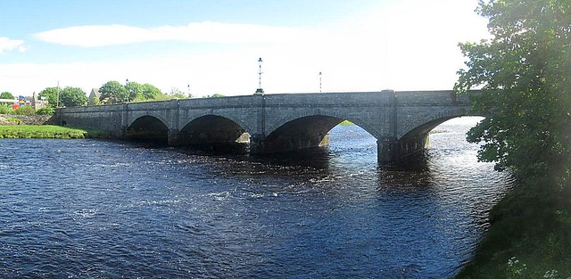 Thurso, Bridge Over River Thurso