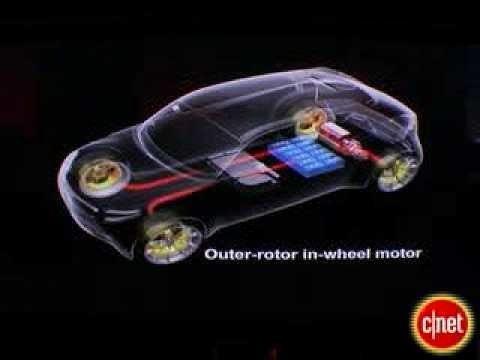 Cars Videos : Electric Car Wheel Motor System EXPLAINED Mitsubishi MiEV