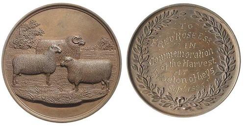 1895 Agricultural Medal