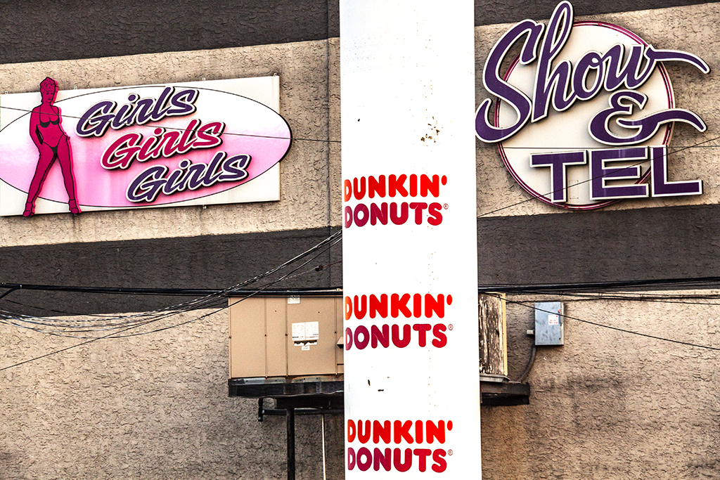 DUNKIN DONUTS SHOW n TELL--Delaware Avenue