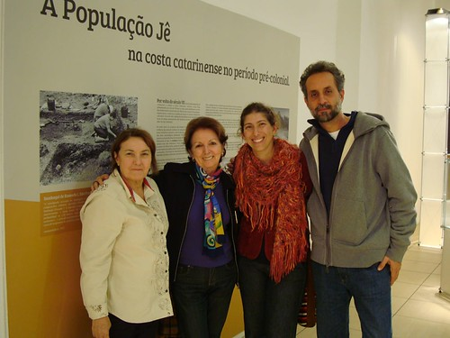 Teresa Fossari, Maria José Reis, Juliana Machado e Lucas Bueno