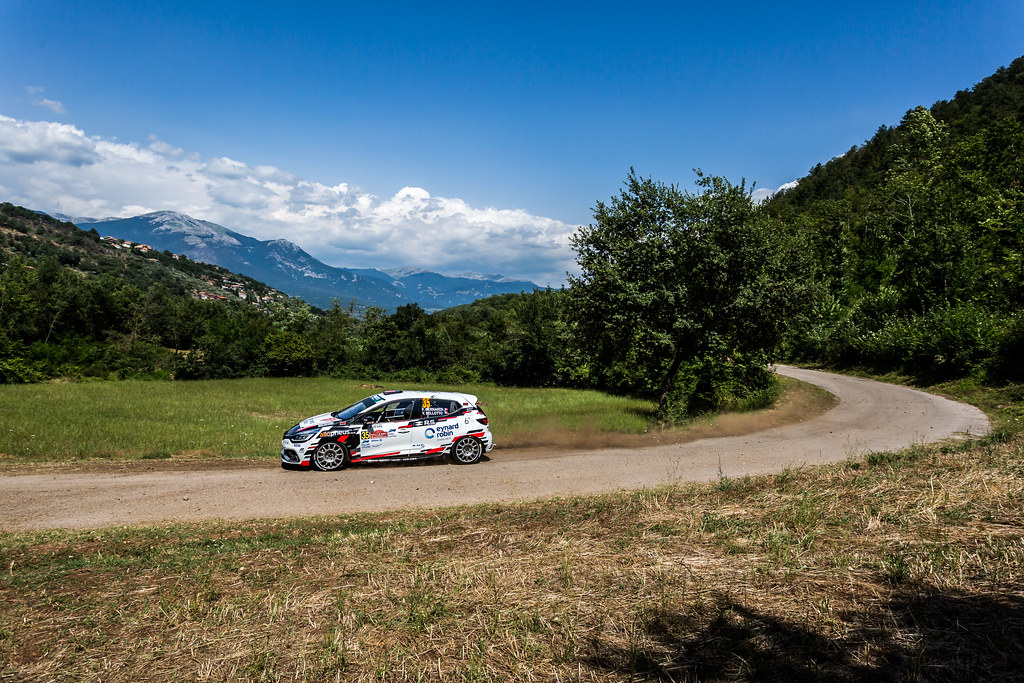 35 BERNARDI Florian (fra),  BELLOTTO Victor (fra), Renault Clio during the 2018 European Rally Championship ERC Rally di Roma Capitale,  from july 20 to 22 , at Fiuggi, Italia - Photo Thomas Fenetre / DPPI