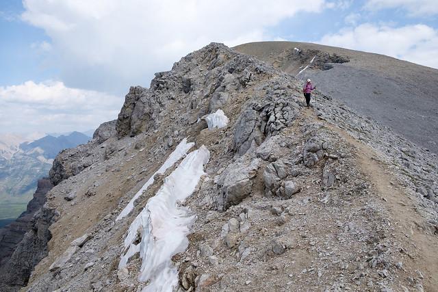 Scrambles - Mt. Bourgeau-13