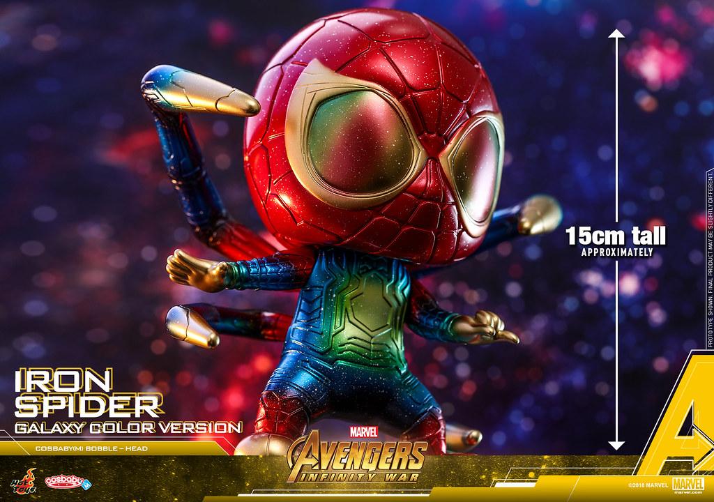 Hot Toys – COSB533 –《復仇者聯盟3:無限之戰》鋼鐵蜘蛛(宇宙配色版本) Iron Spider (Galaxy Color Version) Cosbaby (M) Bobble-Head